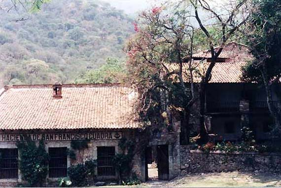 Hacienda Main Building On The Courtyard